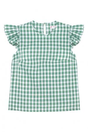 Хлопковая блузка Mixer. Цвет: none
