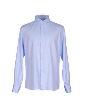 Pубашка ANGELO NARDELLI. Цвет: небесно-голубой