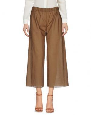 Повседневные брюки CARLA G.. Цвет: хаки