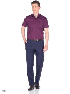 Рубашка Corleone.. Цвет: фиолетовый