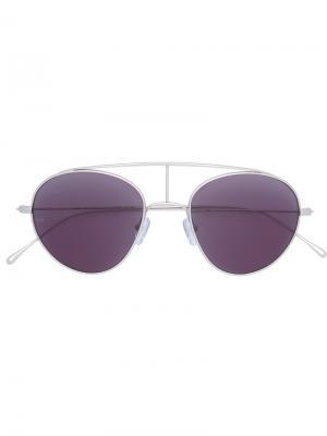 Солнцезащитные очки Geo VI Smoke X Mirrors. Цвет: металлический