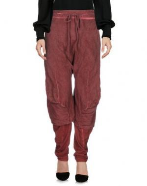Повседневные брюки LUMEN ET UMBRA. Цвет: красно-коричневый