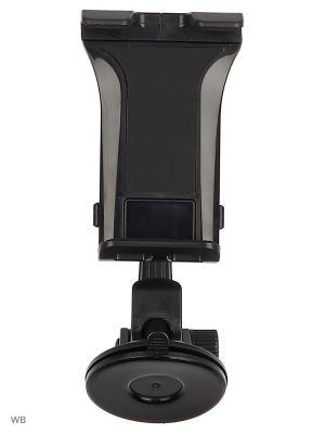 Держатель для планшета/iPad на стекло/торпеду KDS-WIIIX-01T WIIIX. Цвет: черный