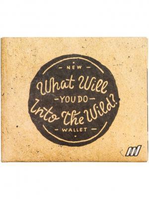 New Wild wallet. Цвет: коричневый