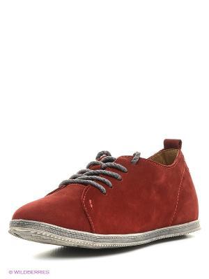Туфли Shoiberg. Цвет: красный