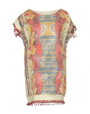 Короткое платье F**K PROJECT. Цвет: красный