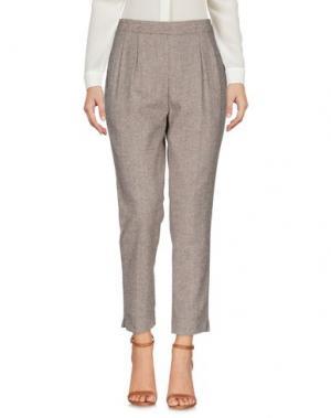 Повседневные брюки DERRIÉRE. Цвет: хаки
