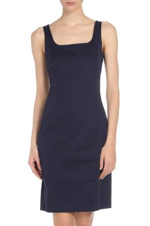 Платье SEVENTY. Цвет: темно-синий