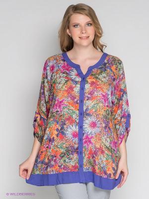 Блузка ARDATEX. Цвет: фиолетовый, оранжевый, фуксия