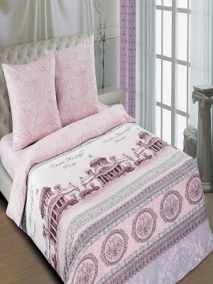 Комплект постельного белья Арт Постель. Цвет: фиолетовый