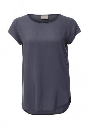 Блуза Vero Moda. Цвет: серый