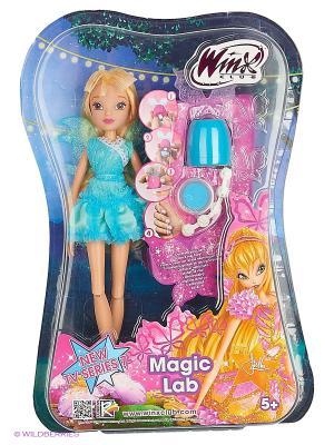 Кукла Winx Club Магическая лаборатория Stella. Цвет: светло-голубой, светло-желтый
