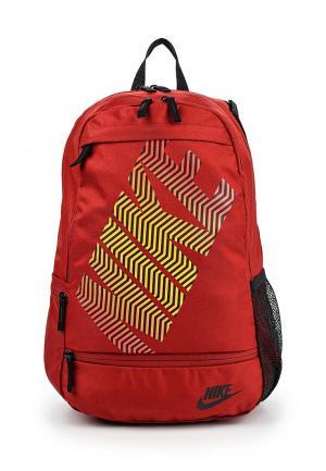 Рюкзак Nike. Цвет: бордовый
