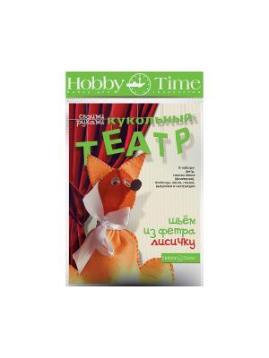 Набор для творчества шьем из Фетра. кукольный театр своими руками. лисичка Альт. Цвет: оранжевый