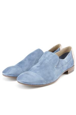 Туфли Fru.it. Цвет: голубой