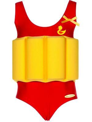 Детский купальный костюм Baby Swimmer. Цвет: красный