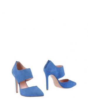 Ботинки ANNA F.. Цвет: лазурный