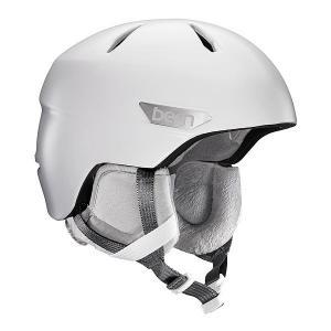 Шлем для сноуборда женский  Bristow Satin White/Grey Canvas Liner Bern. Цвет: мультиколор