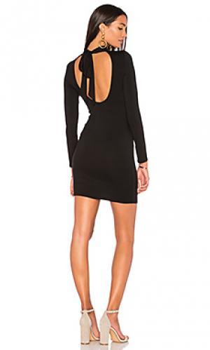 Платье с длинным рукавом bonnie Clayton. Цвет: черный