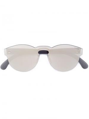 Круглые солнцезащитные очки Retrosuperfuture. Цвет: чёрный