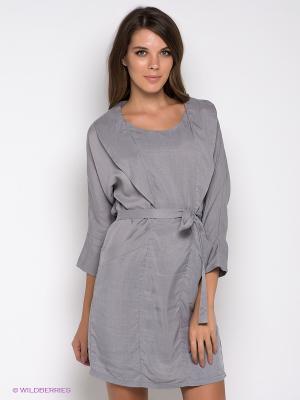 Платье Formalab. Цвет: серый