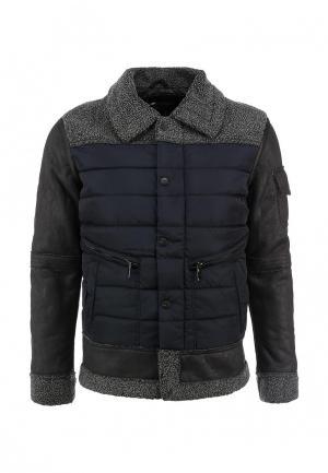 Куртка утепленная Justboy. Цвет: синий