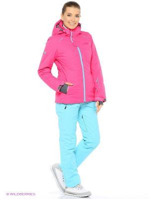 Куртка High Experience. Цвет: розовый