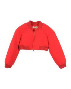 Куртка MIMISOL. Цвет: красный