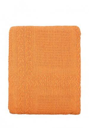 Покрывало Arloni. Цвет: оранжевый