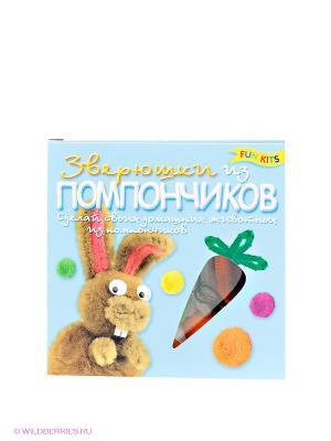 Набор для творчества Fun kits. Цвет: голубой, коричневый