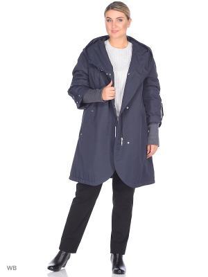 Пальто VIKO. Цвет: темно-синий