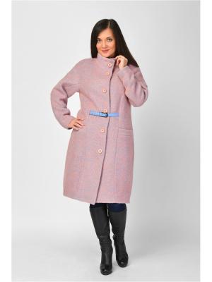 Пальто Maria Velada. Цвет: розовый