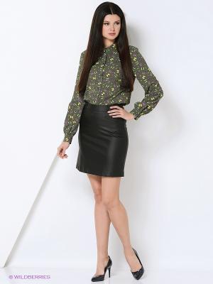 Блузки Elena Shipilova. Цвет: зеленый