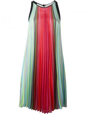 Платье Yas Mary Katrantzou. Цвет: многоцветный