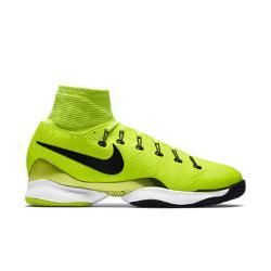 Теннисные кроссовки унисекс Court Air Zoom Ultrafly Clay Nike. Цвет: желтый