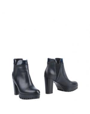 Полусапоги и высокие ботинки PATRICK. Цвет: темно-синий