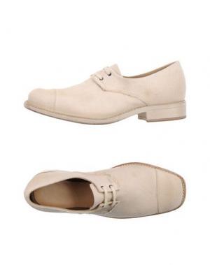 Обувь на шнурках CHEREVICHKIOTVICHKI. Цвет: слоновая кость