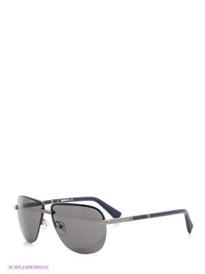 Очки солнцезащитные BLD 1514 104 Baldinini. Цвет: синий, серый