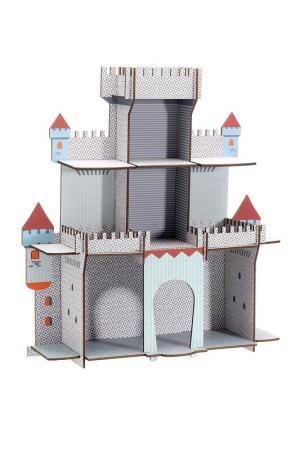 Объемный пазл Замок Djeco. Цвет: серый