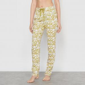 Брюки пижамные, 100% вискозы LOVE JOSEPHINE. Цвет: зеленый абсент