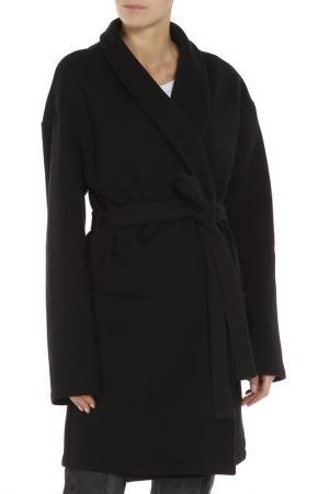 Пальто Lava. Цвет: черный