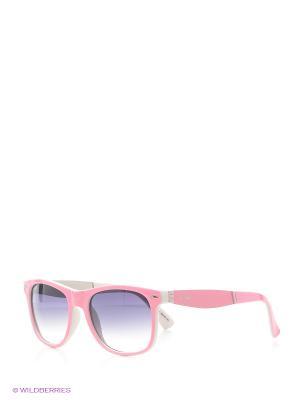 Солнцезащитные очки Vita pelle. Цвет: розовый