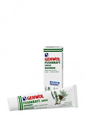 Бальзам зеленый Gehwol. Цвет: белый