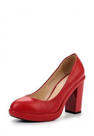 Туфли Dino Ricci Select. Цвет: красный