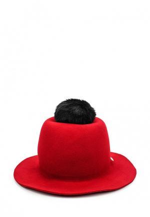 Шляпа Armani Jeans. Цвет: красный