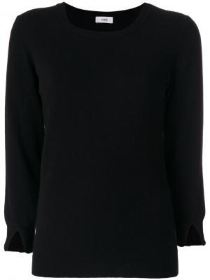 Классический трикотажный свитер Closed. Цвет: чёрный