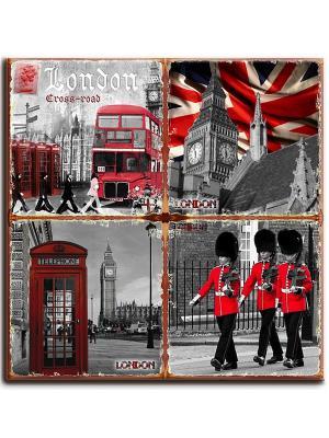 Керамическая подставка Gift'n'Home. Цвет: красный, белый, черный, серый, коричневый