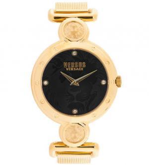 Часы с циферблатом черного цвета VERSUS