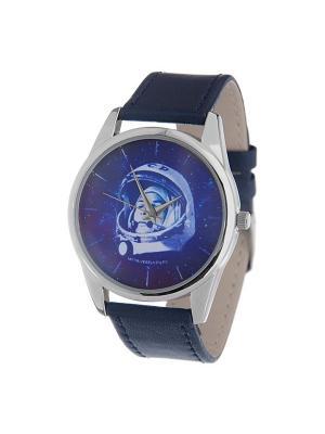 Часы Mitya Veselkov Гагарин. Цвет: синий
