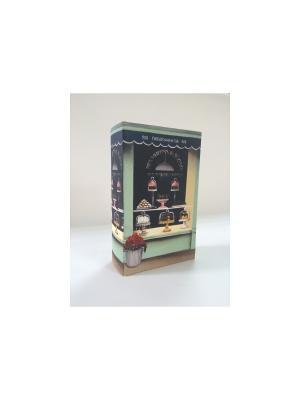 Декоративная шкатулка из МДФ Кондитерская Magic Home. Цвет: синий